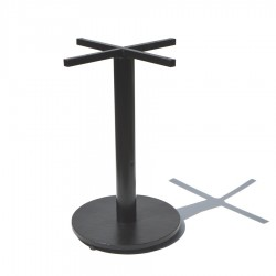 Base pedestal para mesa plato de 50 cms
