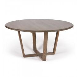 Mesa 140 cm circular madera
