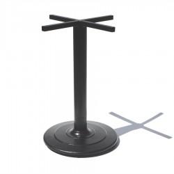 """Base pedestal para mesa plato """"escalonada"""" de 50 cms"""