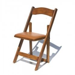 Silla avant garde de madera