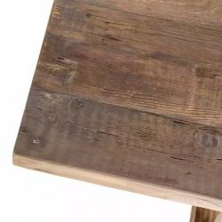 Cubierta 60x80 cm de madera solida estilo industrial