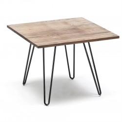 Paquete de 4 sillas Tolix y Mesa 80x110 cm