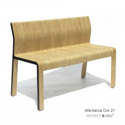 Banca silla Cnc 26