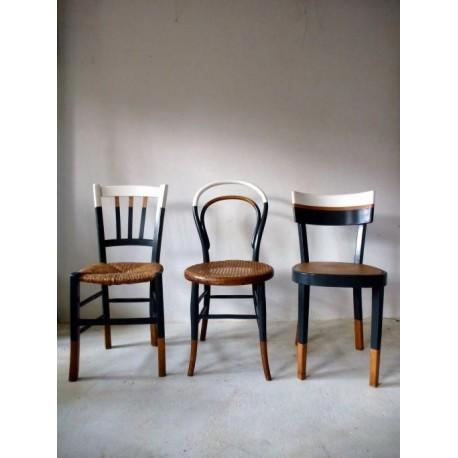 Remodelacion de sillas a estilo vintage