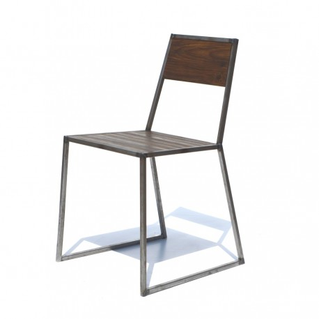 Silla de metal contract 3