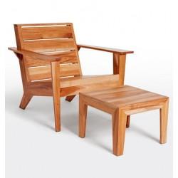 Sillon Kino en madera de parota